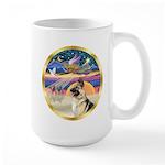 XmasStar/German Shepherd #13B Large Mug