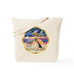 XmasStar/German Shepherd #11 Tote Bag