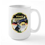 XmasDove/German Shepherd #15 Large Mug