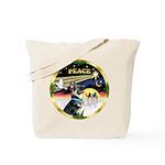 XmasDove/German Shepherd #15 Tote Bag