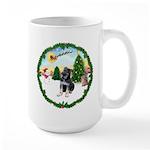 Take Off1/German Shpherd Pup Large Mug