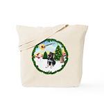 Take Off1/German Shpherd Pup Tote Bag