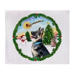 Take Off1/German Shepherd #15 Throw Blanket