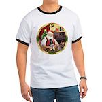 Santa's German Shepherd Pup Ringer T