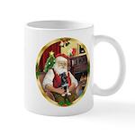 Santa's German Shepherd Pup Mug