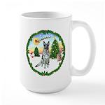 Take Off1/German Shepherd #12 Large Mug
