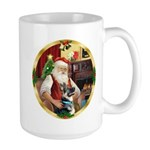 Santa's German Shepherd #15 Large Mug