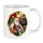 Santa's German Shepherd #15 Mug