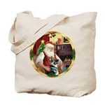 Santa's German Shepherd #15 Tote Bag