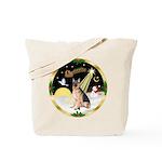 Night Flight/ German Shepherd Tote Bag
