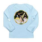 Night Flight/ German Shepherd Long Sleeve Infant T