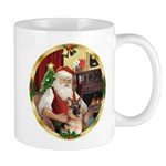 Santa's German Shepherd #11 Mug