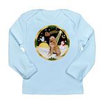 Night Flight/Golen #1B Long Sleeve Infant T-Shirt