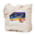 XmasSunrise/Golden 10 Tote Bag