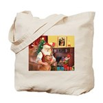 Santa's Golden (#3) Tote Bag