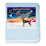 XmasSunrise/Great Dane baby blanket