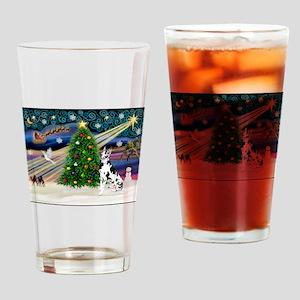XmasMagic/Great Dane (H) Drinking Glass