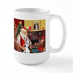 Santa's Great Dane (H) Large Mug