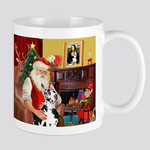 Santa's Great Dane (H) Mug