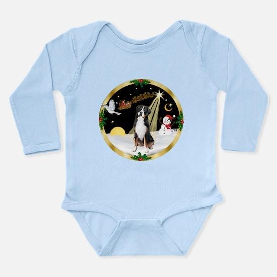 Night Flight/GSMD Long Sleeve Infant Bodysuit