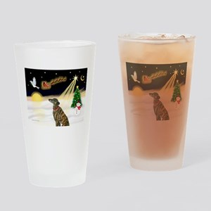 Night Flight/Greyhound (brin0 Drinking Glass