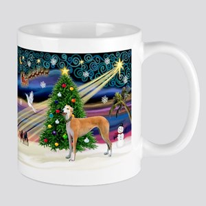 XmasMagic/Greyhound (rd) Mug