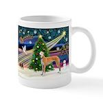 XmasMagic/Greyhound (rd) Mug