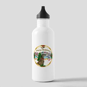 XmasMusic1MC/Greyhound Stainless Water Bottle 1.0L