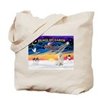 XmasSunrise/Havanese Tote Bag