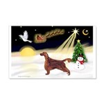 Night Flight/Irish Setter 22x14 Wall Peel