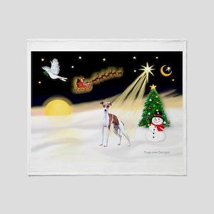 Night Flight/Ital Greyhnd Throw Blanket