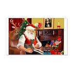 Santa's Ital.Greyt (6) 22x14 Wall Peel