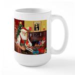 Santa's Ital.Greyt (6) Large Mug