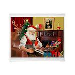 Santa's Ital.Greyt (6) Throw Blanket