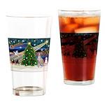 XmasMagic/Ital.Greyt1 Drinking Glass