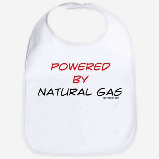 Powered by natural gas Bib