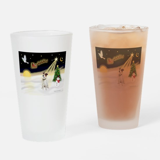 Night Flight/ JRT #1 Drinking Glass