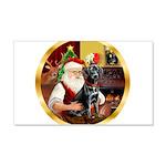 Santa's Lab (blk)#1 22x14 Wall Peel