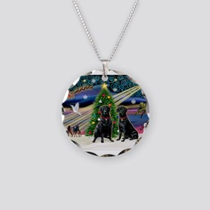 Xmas Magic & Lab PR Necklace Circle Charm