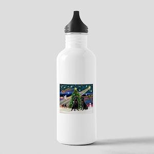 Xmas Magic & Lab PR Stainless Water Bottle 1.0L