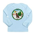 Take Off1/Lab (choc) Long Sleeve Infant T-Shirt