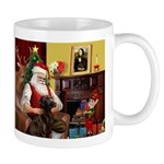 Santa's Chocolate Lab Mug