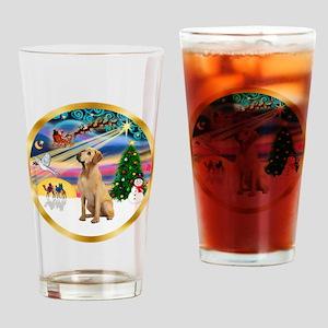 XmasMagic/Lab (yllow) Drinking Glass