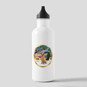 XmasMagic/Lab (yllow) Stainless Water Bottle 1.0L