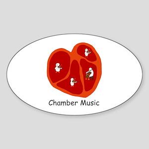 Chamber Music Sticker (Oval)