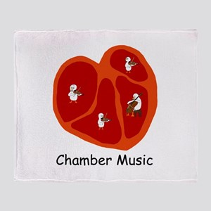 Chamber Music Throw Blanket