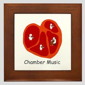 Chamber Music Framed Tile