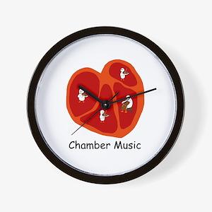 Chamber Music Wall Clock