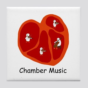 Chamber Music Tile Coaster