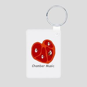 Chamber Music Aluminum Photo Keychain